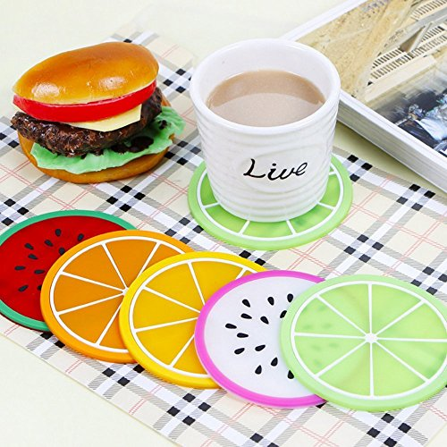 abodellen-fruit-images-round-6pcs-colorful-silicone-coasters-cup-placemat-mat-good-gift-sets