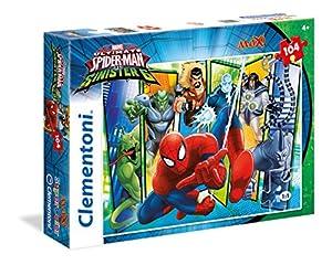 Clementoni - Maxi Puzzle de 104 Piezas Spiderman Sinister Six (23704)