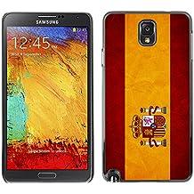 Graphic4You España bandera española Carcasa Funda Rigida para Samsung Galaxy Note 3