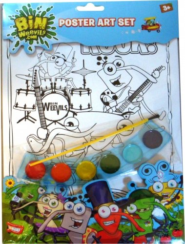 tationery Charakter Poster Malset (Weihnachten Charakter Kostüme Ideen)