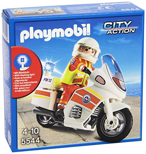 Playmobil Guardacostas - Moto de...