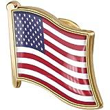 Zonster 1pc American Flag Pin Badge di Metallo Spilla Spilla USA Stati Uniti del Risvolto della Bandierina Pin novità Accesso