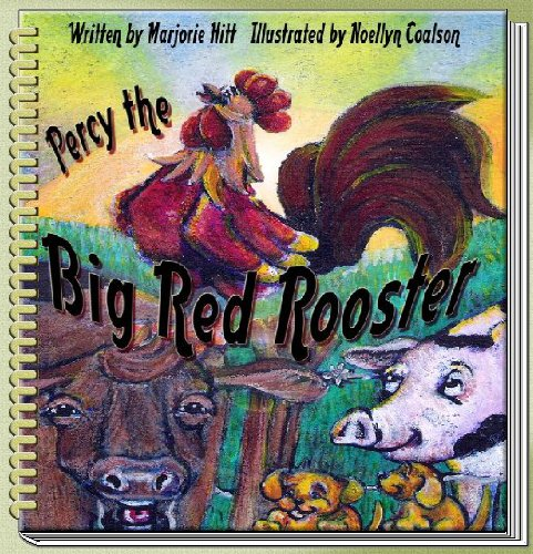 percy-the-big-red-rooster-english-edition