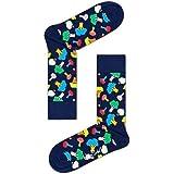 Happy Socks Half Stripe Sock Calcetines, OPACAS para Hombre