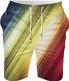 Snoogg Digital Printed Mens Casual Beach Jogger Shorts With Pockets Boxer Style