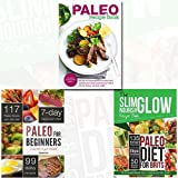Paleo Diet Made Easy Cookbook, Paleo Diet for Brits and Paleo for Beginners 3 Books Bundle Collection- The Slim nourish Glow Essential British Paleo Cookbook and Diet Recipe,Essentials to Get Started