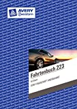 Avery Zweckform 223 Fahrtenbuch, DIN A5, steuerlicher km-Nachweis, 40 Blatt, weiß (10er Vorteilspack)
