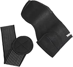 Dilwe Shoulder Protector Stable Adjustable Shoulder Compression Bandage with Detachable Chest Strap Rotator Cuff Support