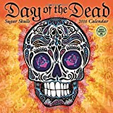 Day of the Dead 2016 Wall Calendar: Sugar Skulls by Amber Lotus Publishing (2015-07-22)