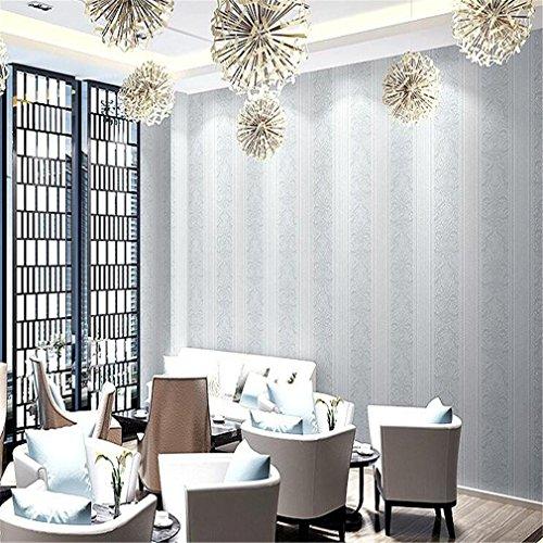 JIAJU Non-Woven Wall Paper Dicke europäischen Stil 3D einfache Wohnzimmer Schlafzimmer Tapetenmuster, B-3