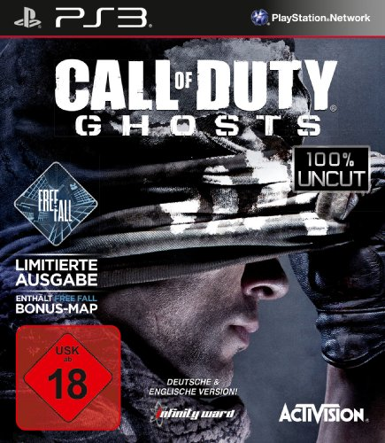 Call of Duty: Ghosts Free Fall Edition (100{9c18c9c92db44570cdebc03c80f2033acf4dbf1055080ebfbae6a1e2cef5a8b0} uncut) - [PlayStation 3]
