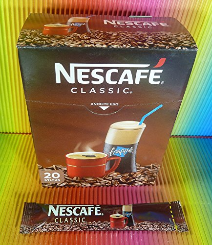 Nescafe Classic Frappe 20 sticks box