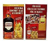 Southern Comfort Geschenk-Set - Southern Comfort Liqueur Whisky 70cl (35% Vol) + Lynchburg Glas