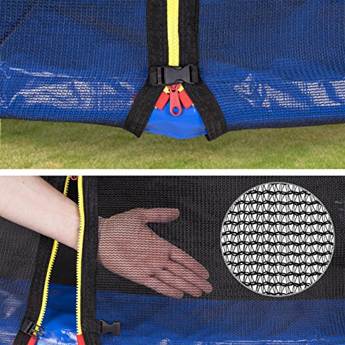 Kinetic Sports Outdoor Gartentrampolin Komplettset - 5