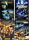 Starship Troopers Quadrilogy Complete DVD Collection 1-4: Starship Troopers / Starship Troopers 2 - Hero Of The Federation / Starship Troopers 3 - Marauder / Starship Troopers - Invasion + Extras / Special Features by Casper Van Dien