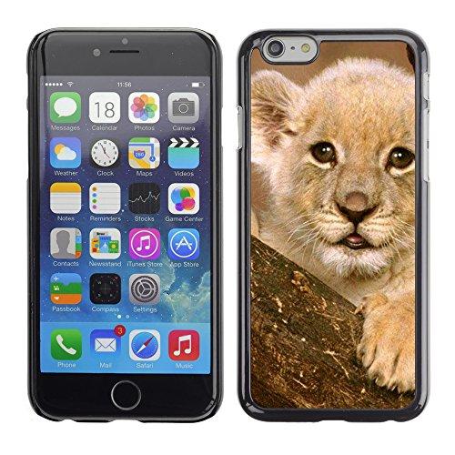 Graphic4You Baby Tiger Tier Design Harte Hülle Case Tasche Schutzhülle für Apple iPhone 6 / 6S Design #6