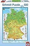 Schmidt Spiele 57357 - Deutschlandkarte