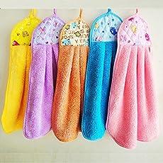 Style Urban Microfiber Washbasin Napkin/Towel(Medium, Multicolour) - Set of 3