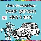 Telecharger Livres Livre de coloriage pour garcon des 4 ans (PDF,EPUB,MOBI) gratuits en Francaise