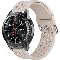 MroTech 22 mm Cinturino Compatibile per Samsung Galaxy Watch 46mm/Gear S3 Frontier/Classic/Huawei Watch 2 Classic/GT/GT…