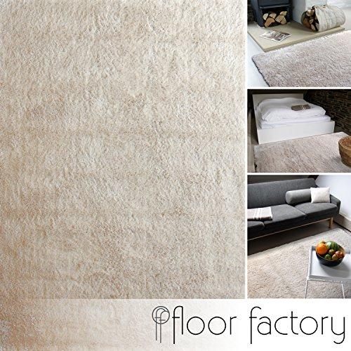 Tappeto moderno Delight beige 80x150cm - tappeto esclusivo morbido e serico