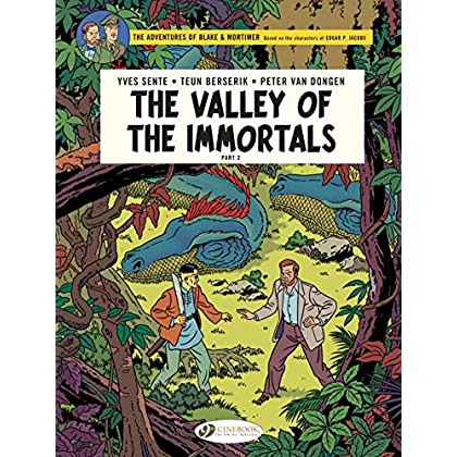 Blake & Mortimer, Tome 26 : The Valley of the Immortals part 2