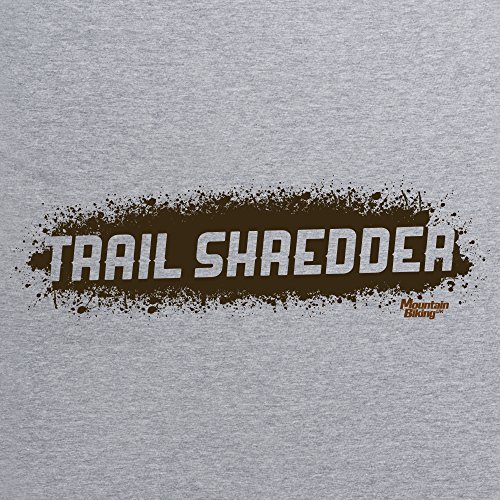 Trail Shredder T-Shirt, Herren Grau Meliert