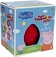 Giochi Preziosi Pasqualone 2019 Peppa Pig, Contenitore a Forma di Uovo con Tante Sorprese