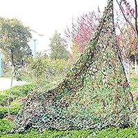 Bestland Camouflage Netz Waldtarnungs Tarnnetz Netz für Camping Militärjagd Schießen Angeln Outdoor