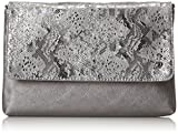 TOM TAILOR Denim Damen Mila Vip Schultertasche, Silber, 3x19x29 cm