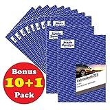 Bonus Pack 10 + 1 Avery Zweckform 223 Fahrtenbuch für PKW (A5, 40 Blatt) weiß (Bonus)