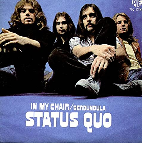 Status Quo In My Chair - In My Chair 2-track CARD SLEEVE -