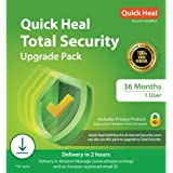 Quick Heal Total Security Renewal Upgrade Gold Pack - 1 User, 3 Years (Email Delivery In 2 Hours- No Cd)-Existing Single Use