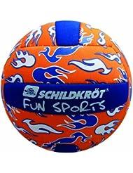 Schildkröt Funsports Neopren Mini-Beachvolley, orange-blau-weiß, 15 cm, Gr. 2