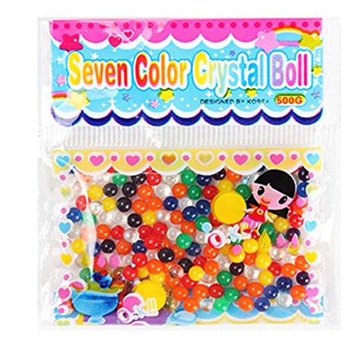 rlen Crystal Boden Jelly Wasserball Wasser Perlen Hochzeit Partei Vase Füller Dekoration bunt gemischt (Vase Füller Perlen)