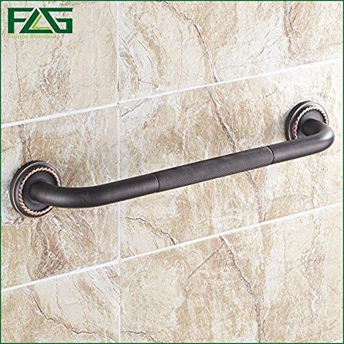 Primetraders Vereinigten Staaten: Flg Badewanne Handlauf Solide Messing Öl eingerieben Wand montiert Badezimmer Armlehne Griff Badewanne Armlehne G1610 (Wand-storage-einheiten)