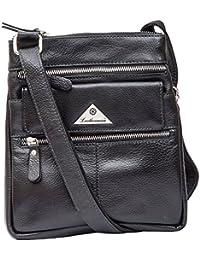 Leatherman Women's Sling Bag (Black, 1227B_Black)