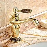 Vanity Interruptor Vintage grifos lavabos ba/ño Grifo Into The montada en la Pared Grifo de la Pared Completa de Cobre Antiguo Grifo Europea Caliente y el Agua fr/ía del Grifo