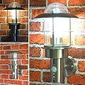Auenleuchte Aussenlampe Wandleuchte Hausbeleuchtung Wegeleuchte Bewegungsmelder Bm 251b von Maxkomfort