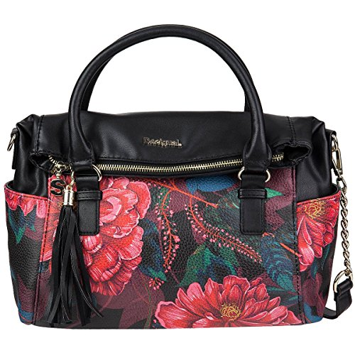 Desigual 17waxpb4-bols-loverty Paris, Borsetta da polso donna carmin