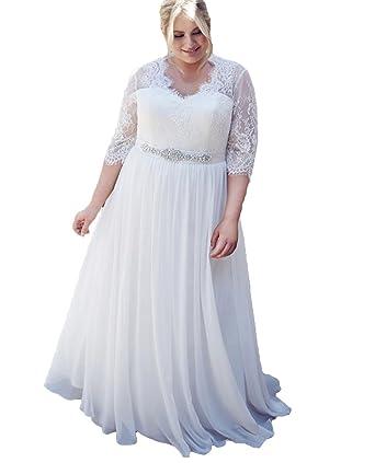 Hochzeitskleider spitze grosse grossen