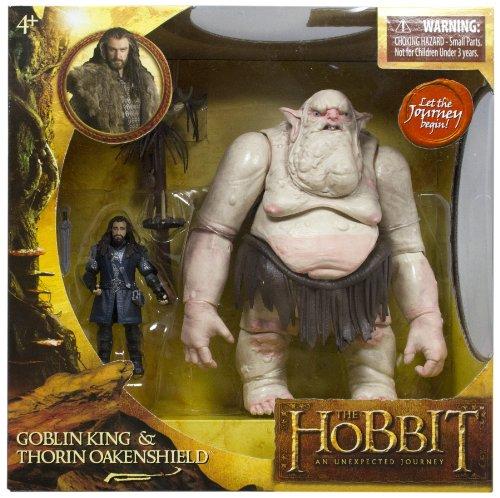 The Hobbit - Juego de muñecos de Thorin Oakenshield y el Rey Goblin 2