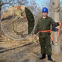 HPDOM Arbol De Escalada Artefacto Pole Climbing Spikes Electricista Utilidad Polo Hebilla Poste De Madera para Trepar Árboles para La Observación De La Caza,350model