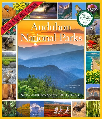 Audubon National Parks Calendar 2015 by National Audubon Society (2014-07-21)