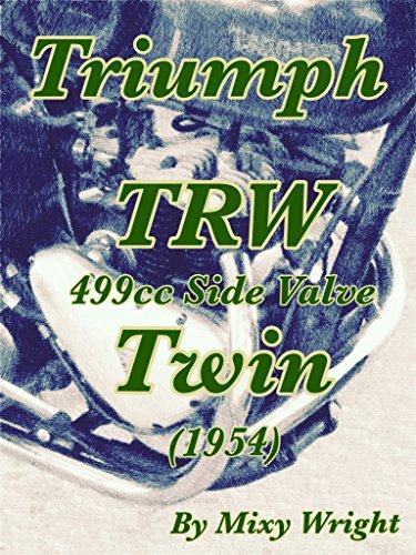 Triumph TRW 499cc Side Valve Twin (1954) (English Edition) por Mixy Wright