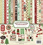 Echo Park Paper Company Reflections Christmas Scrapbooking Collection Kit