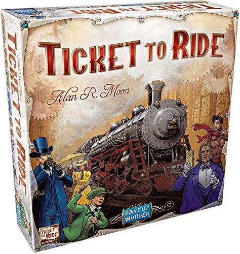 Ticket to Ride: The Cross-country Train Adventure Game!