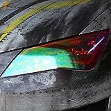 RLS Scheinwerfer Folie Chamäleon (30x100cm) von Finest-Folia Tönungsfolien Tint Rückleuchten Nebelscheinwerfer (RLS76)