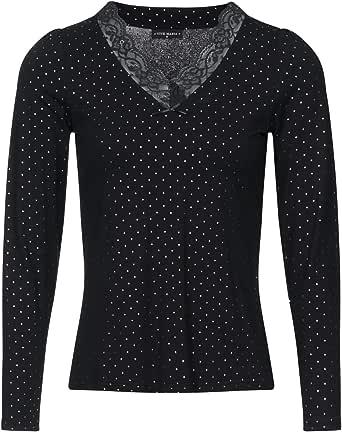 Vive Maria Glamour Love, maglietta nera