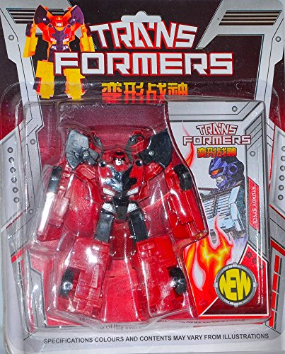 Vibgyor Vibes Small Size Transformer Series-Age of Extinction- Action Figure Robot To Car Conversion, Plastic Body- Optimus Prime- The Great Warrior for Kids 3 years and older- No Batteries Required  available at amazon for Rs.175
